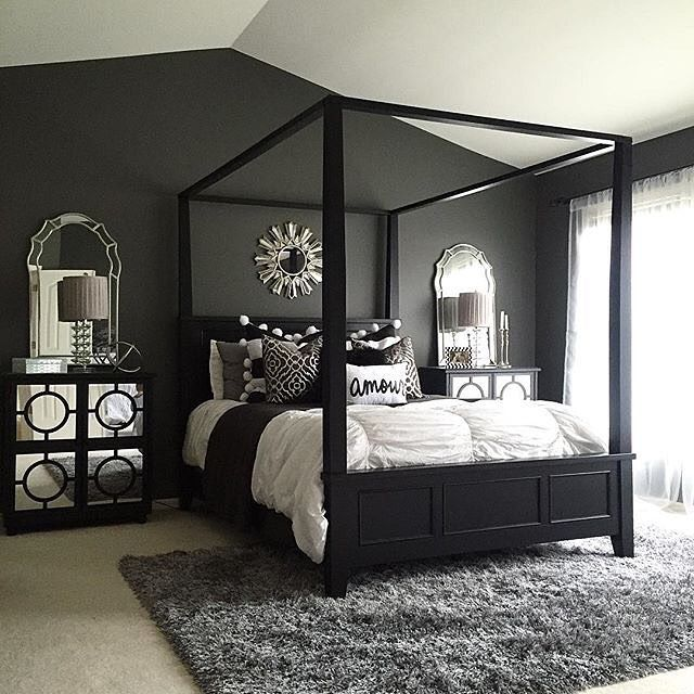 Bedroom Furniture Sets Black And White Bedroom Suite Black Bed