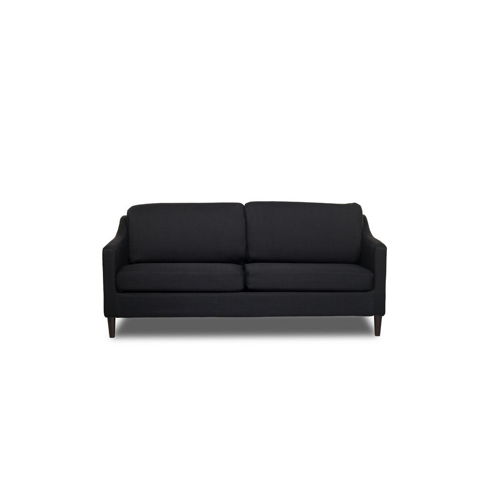 Decker Black Sofa