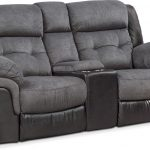 Black Reclining Loveseat