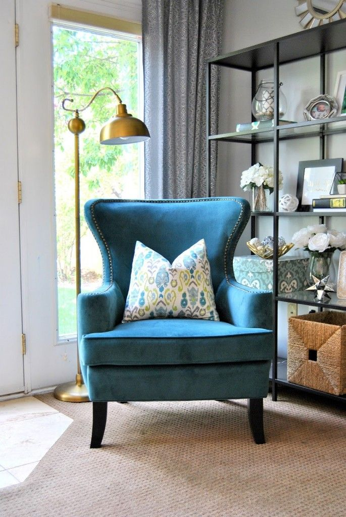 Designing Home With Endearing Blue Accent Chairs For Living Room
