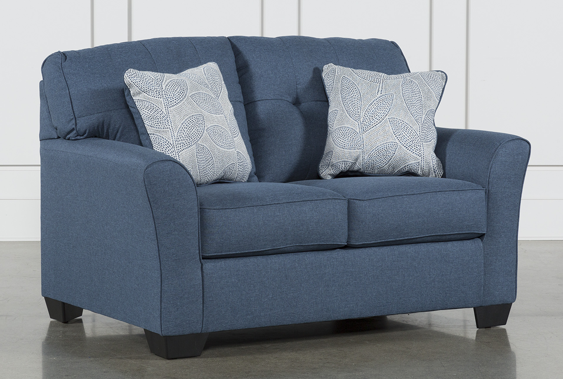 Blue Loveseats - Free Assembly with Delivery | Living Spaces