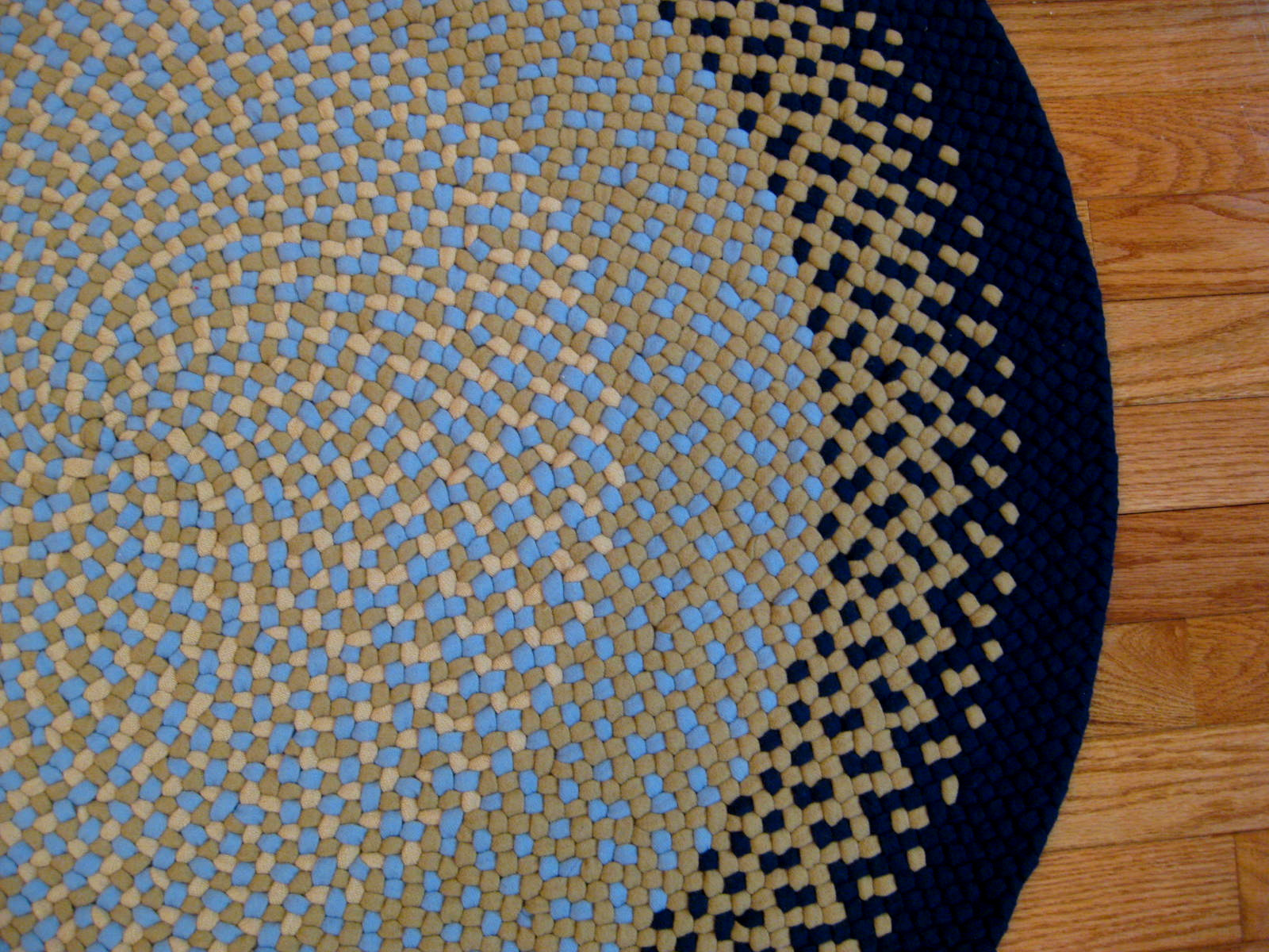 Wool Braided Rugs Project Design Idea And Decorations Easy Diy Round
