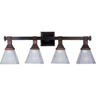 Maxim Lighting - Bronze - Vanity Lighting - Lighting - The Home Depot