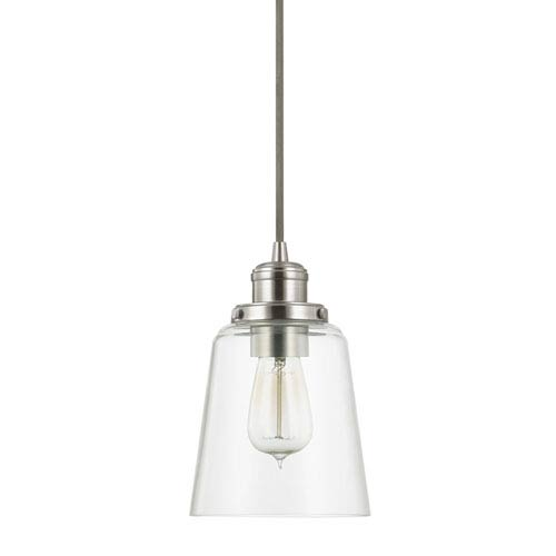 Capital Lighting Fixture Company Brushed Nickel One Light Mini