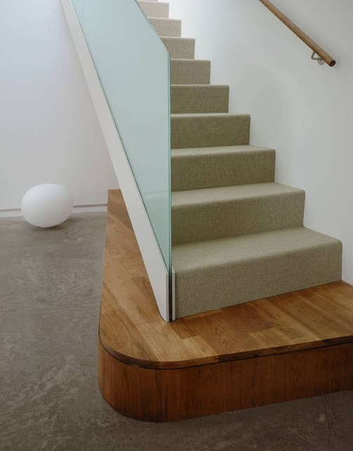 Kaplan Wright House LA Modern Staircase, Los Angeles
