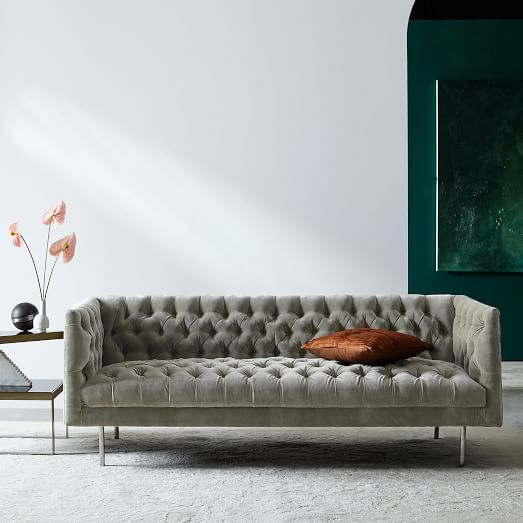Modern Chesterfield Sofa (79