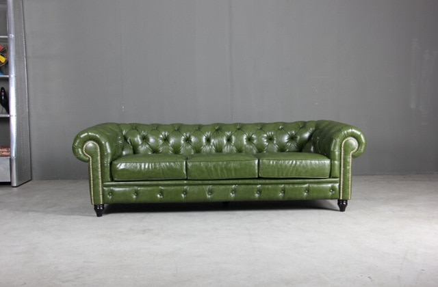 Modern Leather Chesterfield sofa for antique style leather sofa with