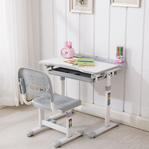 Image is loading Mecor-Children-039-s-Desk-and-Chair-Set-