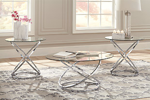 large Hollynyx Table (Set of 3), , rollover