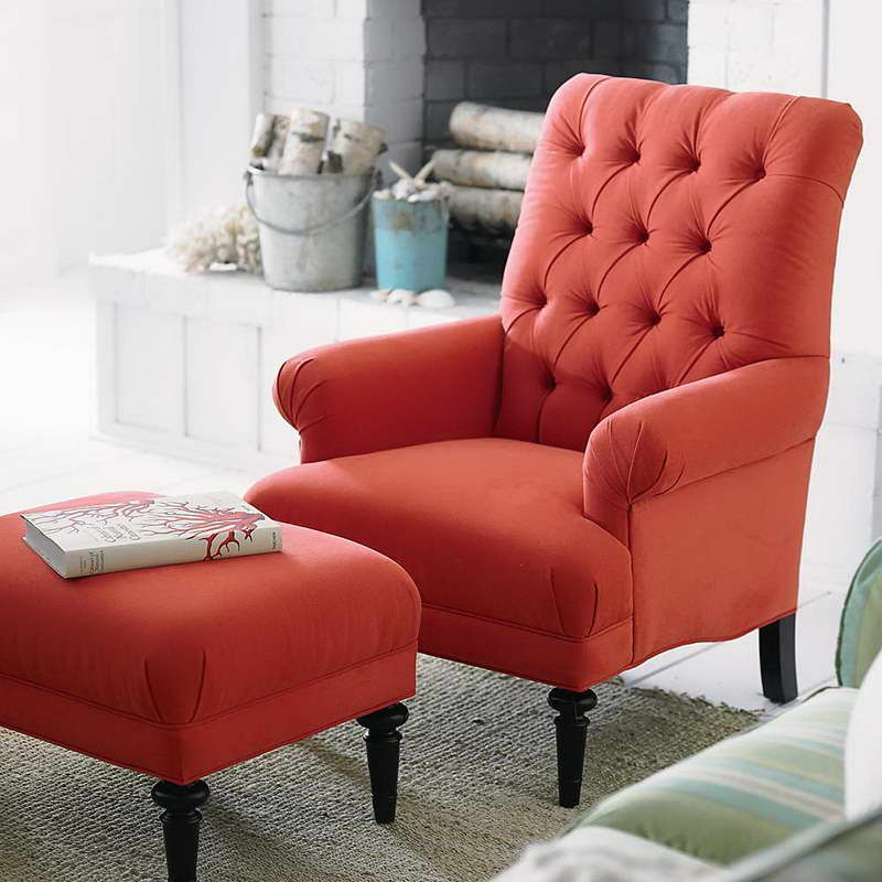 Pictures of Living Room Chairs Red Accent — Living Room
