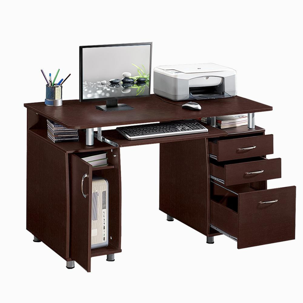This review is from:Chocolate Complete Workstation Computer Desk with  Storage