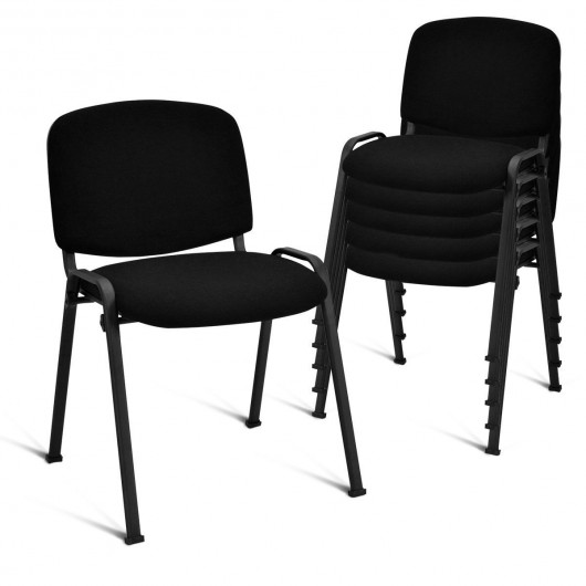 Set of 5 Conference Chair Elegant Office Chair for Guest Reception -  Kitchen & Dining Room Chairs - Chairs - Furniture