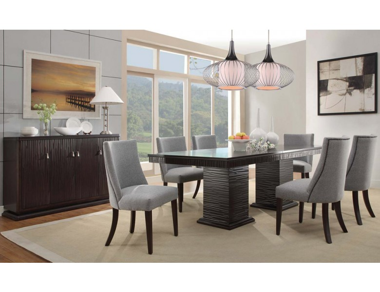 Lusaka Contemporary Dining Room Table
