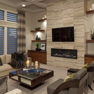 75 Most Popular Contemporary Living Room Design Ideas for 2019 - Stylish Contemporary  Living Room Remodeling Pictures | Houzz