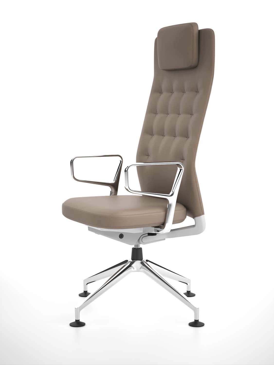 contemporary office chair / ergonomic / with headrest / adjustable - ID  TRIM L