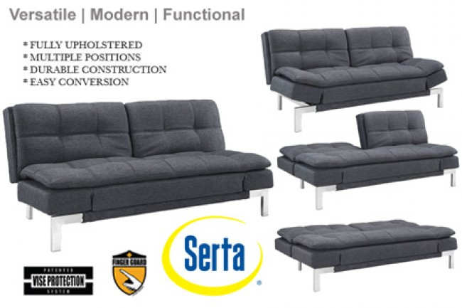 Convertible Sofa Bed Sleeper. bocasofabed