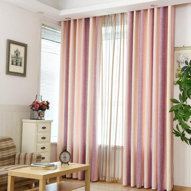 Pink-Striped-Jacquard-LinenCotton-Blend-Modern-Curtains-for-Bedroom -or-Living-Room-CMT1701230848303-1.jpg