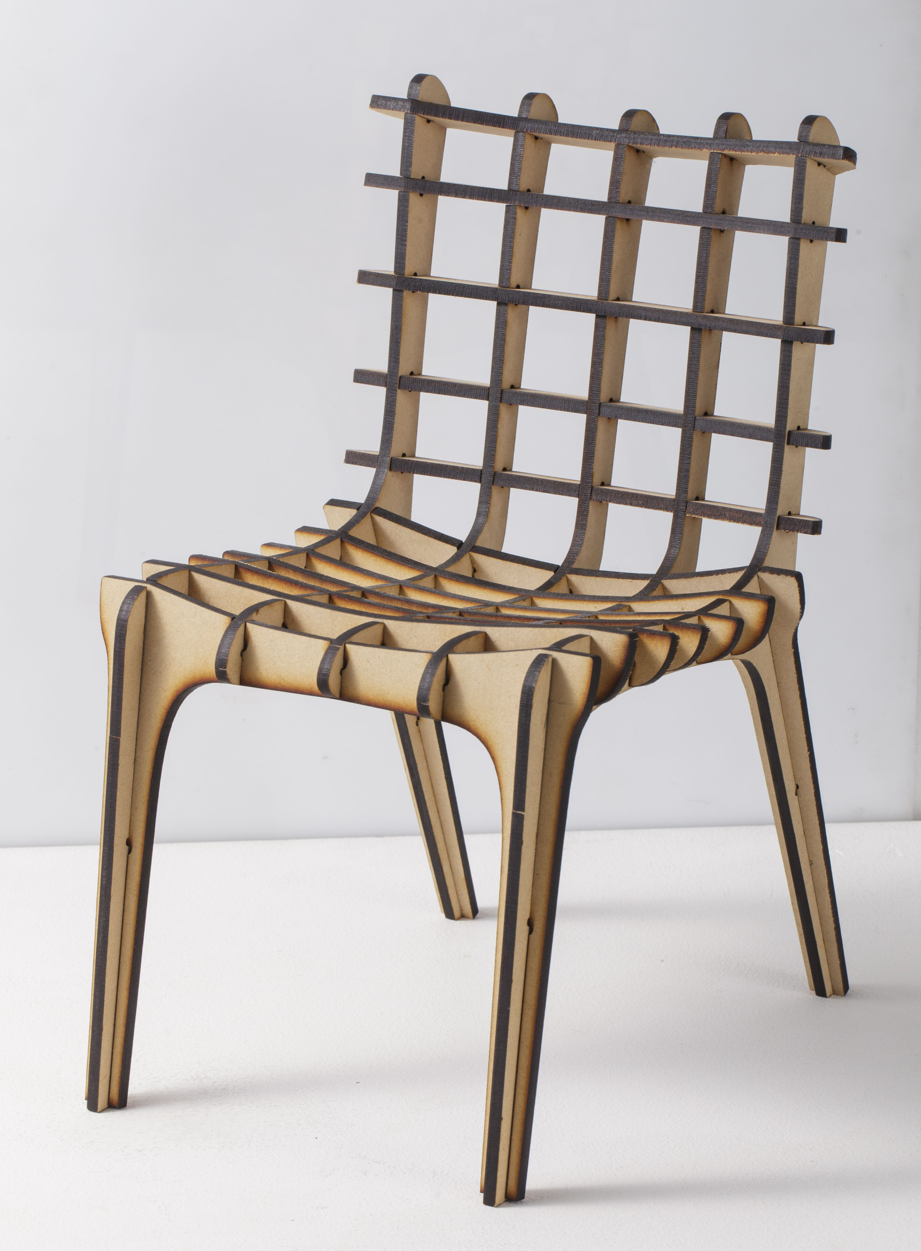 Make a 3D chair with a FABOOL laser! https: