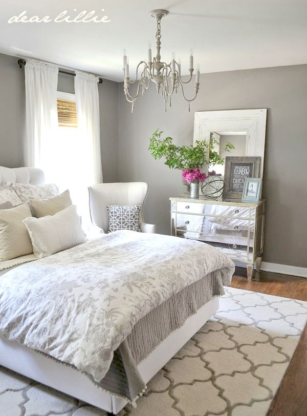 How To Decorate, Organize and Add Style To A Small Bedroom | Home |  Pinterest | Colonial bedroom, Home and Master Bedroom Design