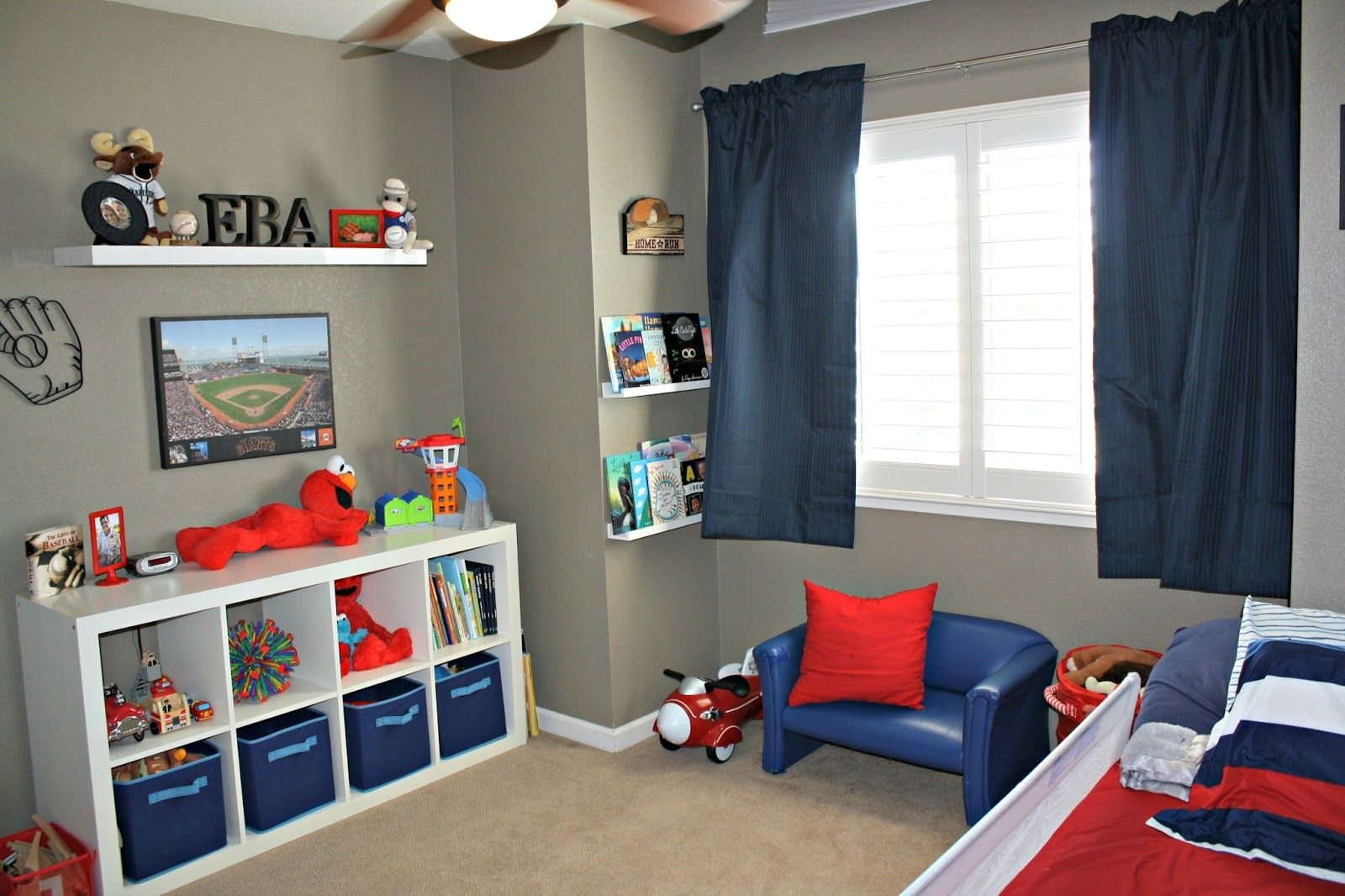 decorating ideas modern toddler bedroom