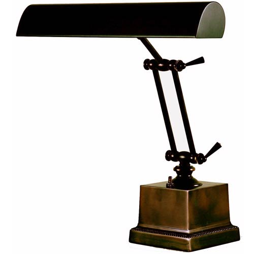 House Of Troy Mahogany Bronze 14-Inch Adjustable Desk/Piano Lamp