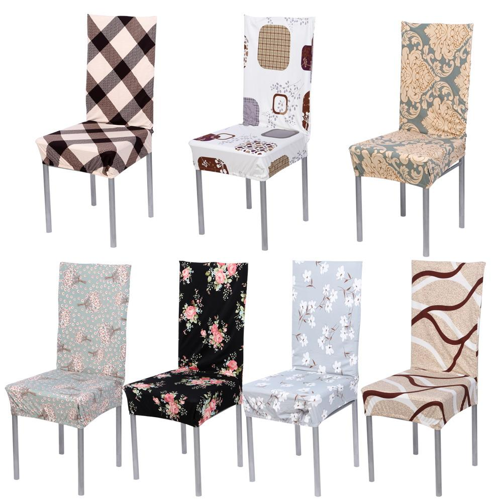 Removable Chair Cover Stretch Elastic Slipcovers Modern Minimalist Chair  Covers Home Style Banquet Dining Chair Seat Covers Seat Covers For Kitchen  Chairs