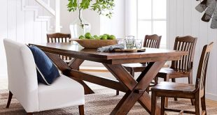 Toscana Dining Table, Tuscan Chestnut