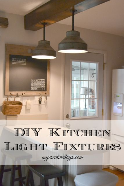 20+ DIY Lighting Ideas - Light Fixtures, Lamps, and more! | Dream