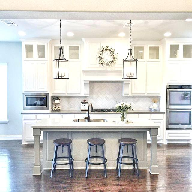 Farmhouse Kitchen Island Lighting Farmhouse Style Kitchen Island