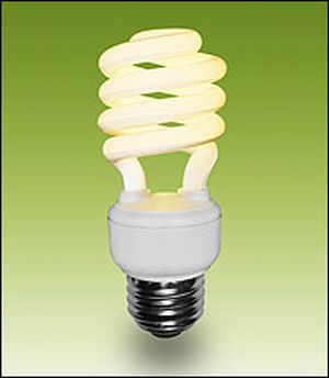 COMPACT FLUORESCENT LIGHT BULBS - More Recycling Info - COG