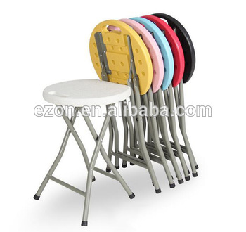 Portable Outdoor Plastic Folding Stools/kids Folding Outdoor Beach