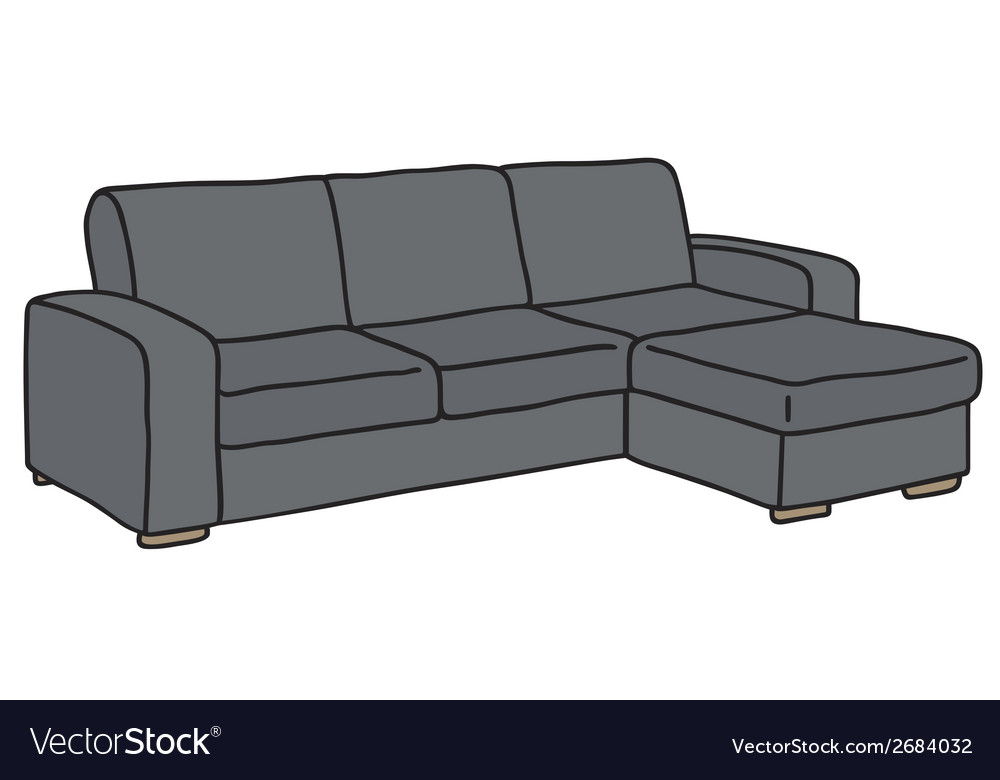 Couch vector image