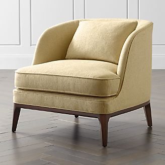 Living Room Chairs (Accent & Swivel) | Crate and Barrel
