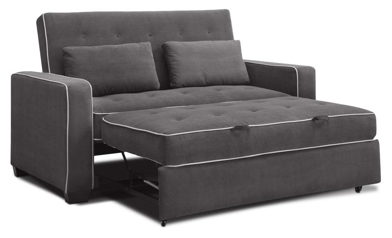 Augustine Sofa with Pop-Up Bed - Grey