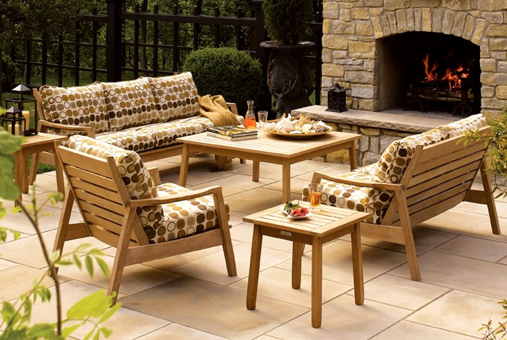 Awesome Teak Outdoor Sofa