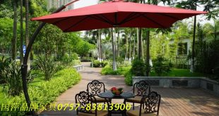 P003A Big Bend bend hanging umbrella umbrella large side garden umbrellas  outdoor umbrella