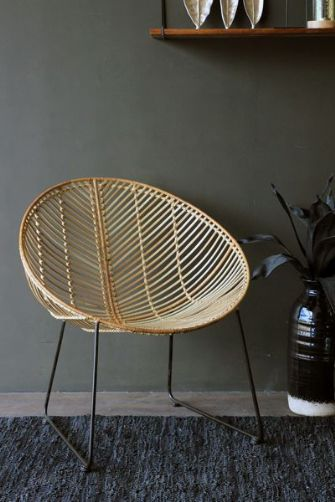 Genuine Rattan Armchair