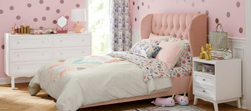 Polka Dot Girl Bedroom