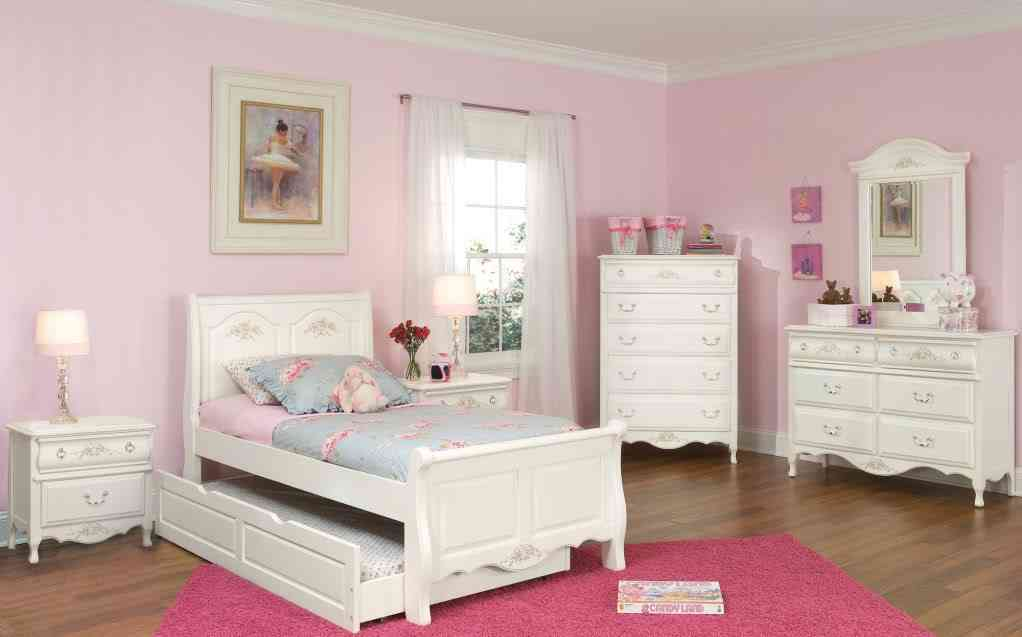 Twin White Bedroom Furniture Sets