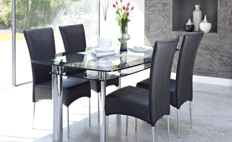 http://www.Traveller Location. 3Shares. Decorating with black dining  room furniture