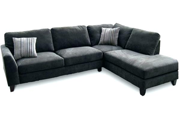 gray microfiber sectional with chaise grey microfiber sectional