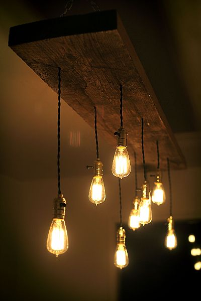 Edison Bulbs Are Pinterest's Prettiest DIY Trend | For the Home