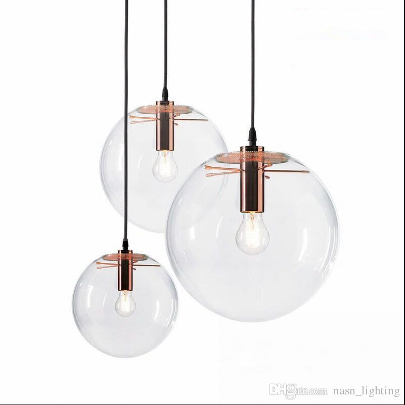 Selene Pendant Glass Light By Sandra Lidner Replica Clear Glass E27 Pendant  Lights Pendant Lamps Lighting Rose Gold/ Black Hanging Light Light Pendants