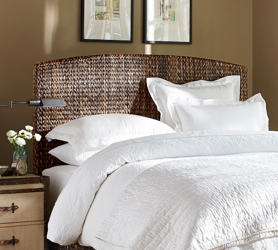 Upholstered, Tufted & Wood Headboards | Pottery Barn