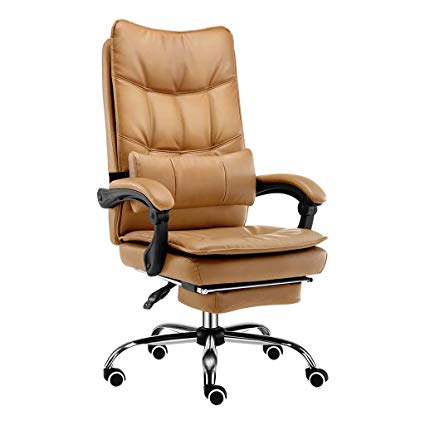 Computer Chair Computer Chair, high-end Office Chair Leisure Back Office  Chair Lifting Leather