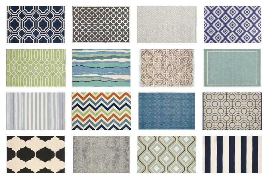 BEST SOURCES FOR INEXPENSIVE INDOOR-OUTDOOR RUGS