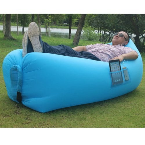 Lighter Nanometer Material Portable Waterproof Inflatable Sofa - $52.44  Free Shipping|Traveller Location