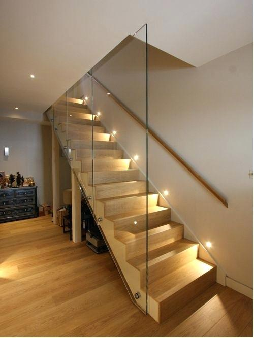 Interior Step Lights Lighting Recessed Stair Light Indoor Stairway L