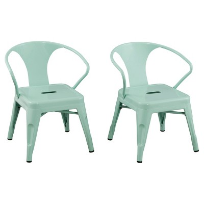 Metal Kids Chair (Set of 2) - Reservation Seating