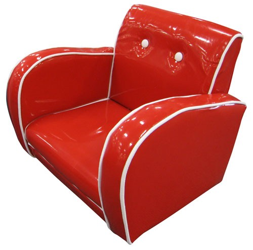 Kids Arm Chair Red